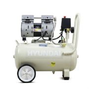 Hyundai HY7524 5.2CFM / 1HP / 24 Litre Oil Free Direct Drive Silenced Air Compressor